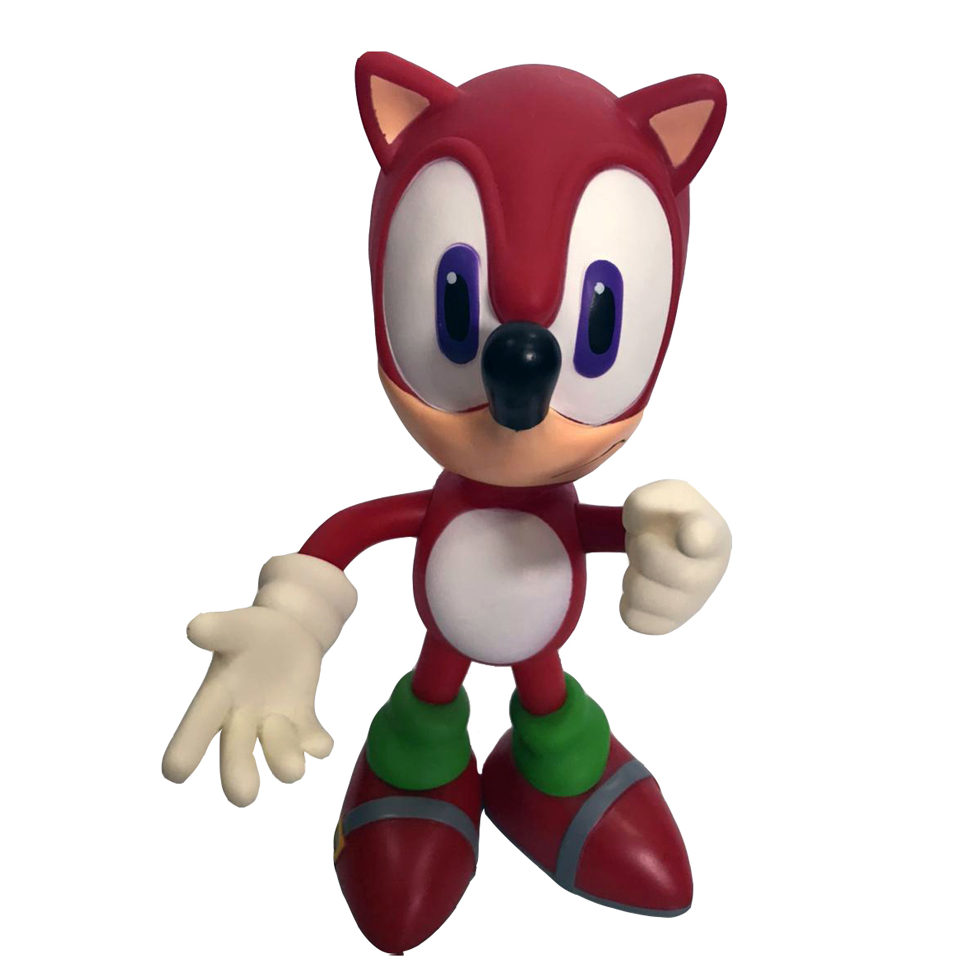 Boneco Sonic Vermelho