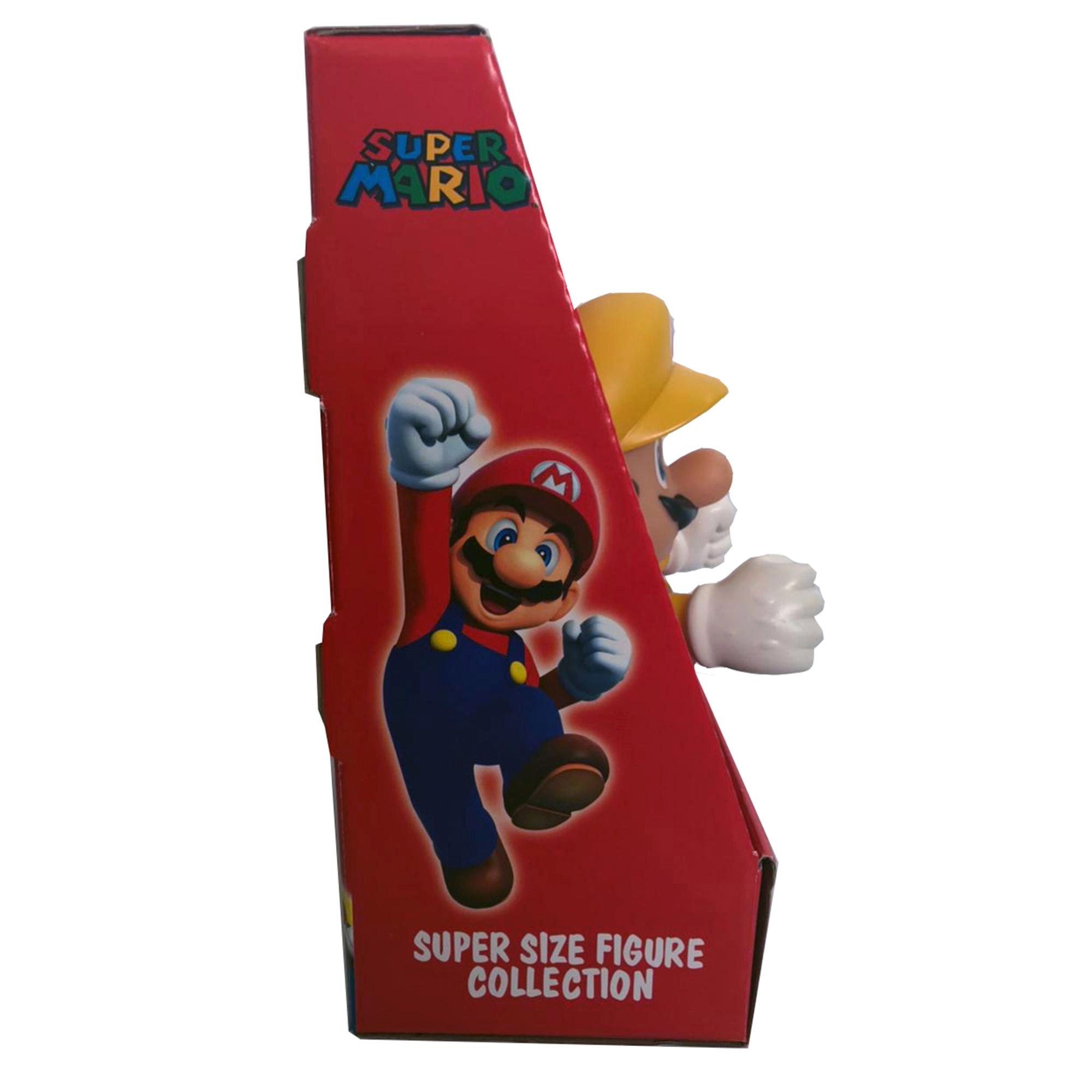 Boneco Super Mario Bros Amarelo
