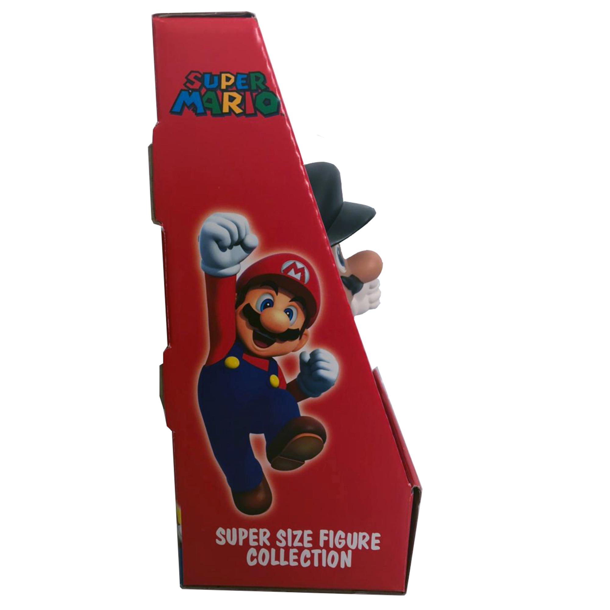 Boneco Super Mario Bros Black