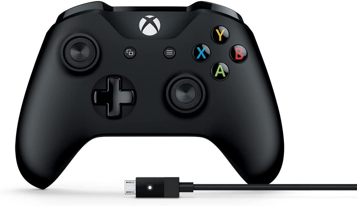 Controle com Fio - Xbox One - Preto