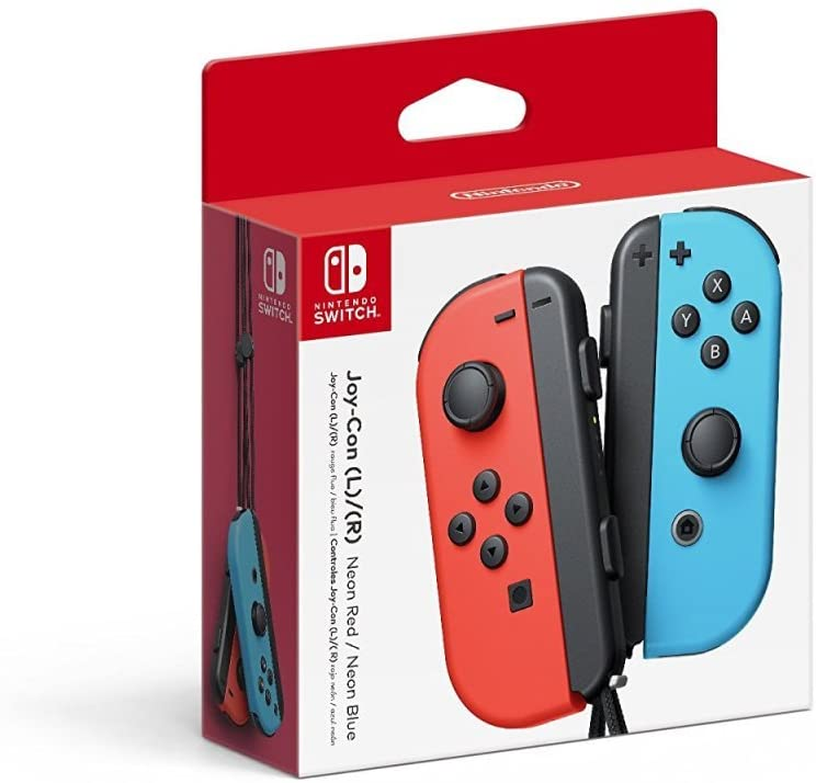 Controle Nintendo Joy con - Vermelho e Azul - Nintendo Switch