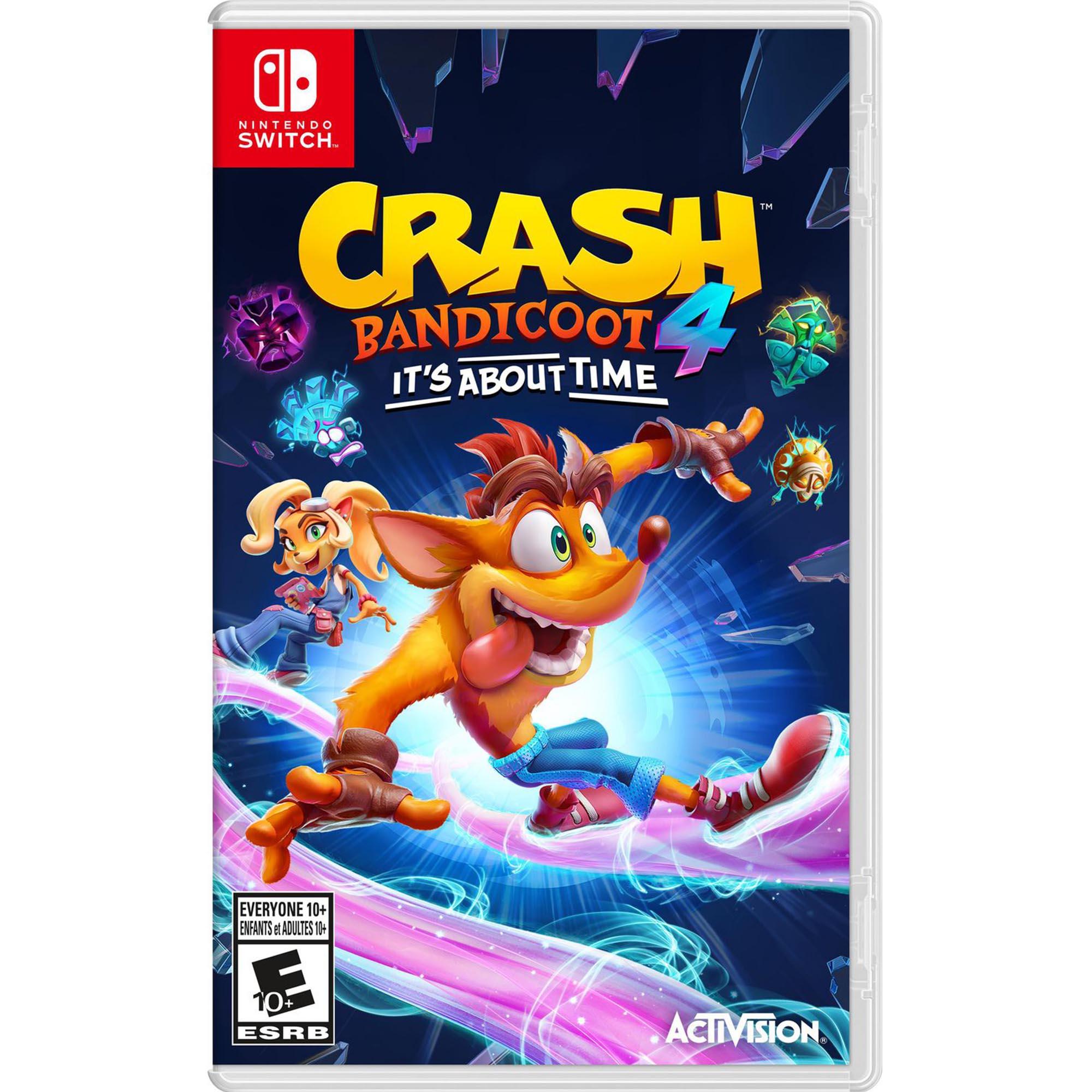 Crash Bandicoot™ 4: It's About Time - Nintendo Switch - Mídia Física