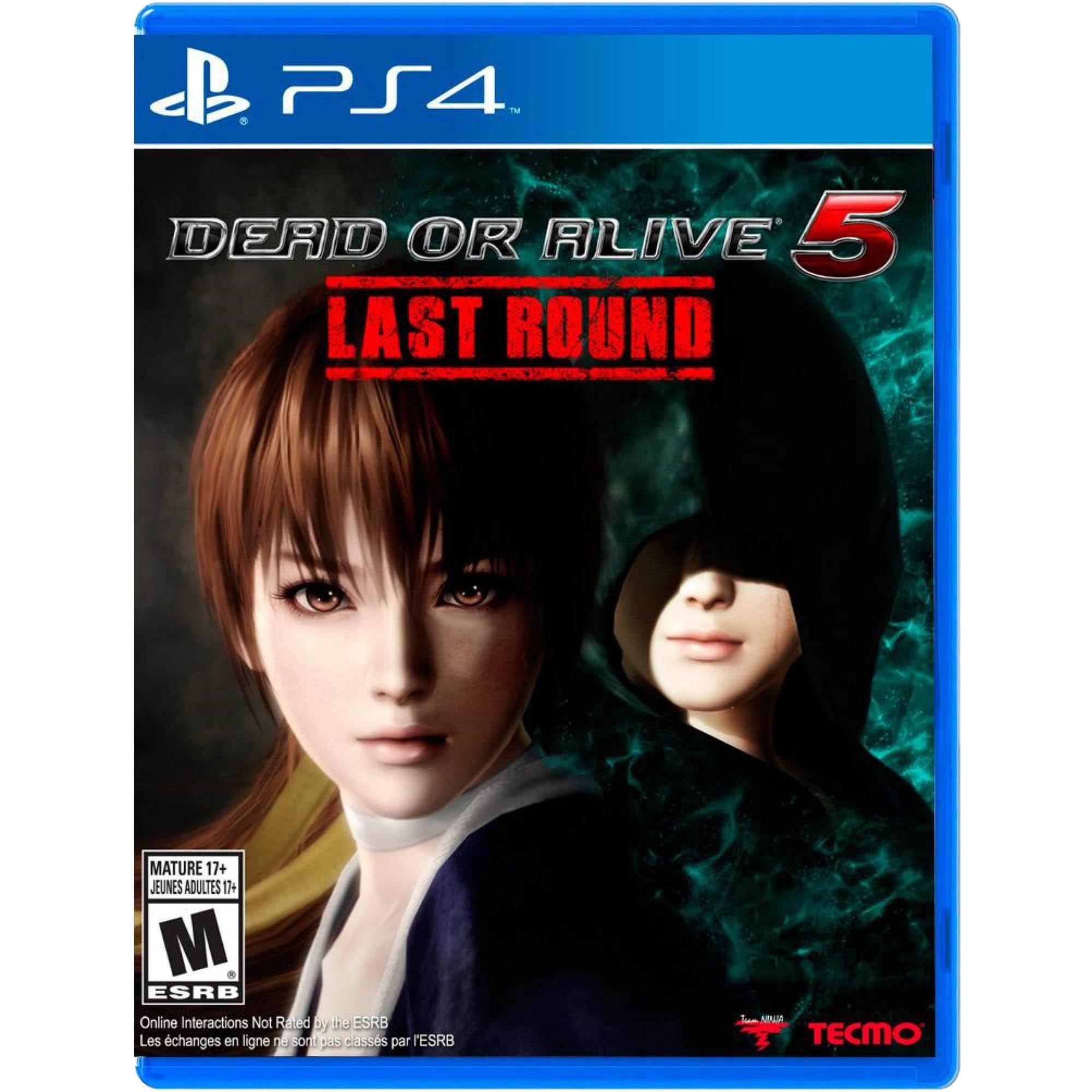 DEAD OR ALIVE 5 Last Round - PS4 - Mídia Física