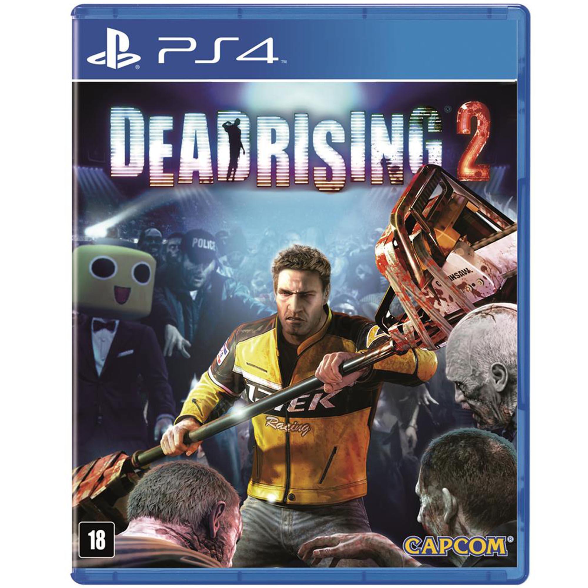 Dead Rising  2 - PS4 - Mídia Física