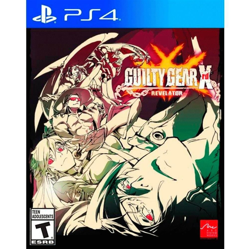 GUILTY GEAR XRD REVELATOR - PS4