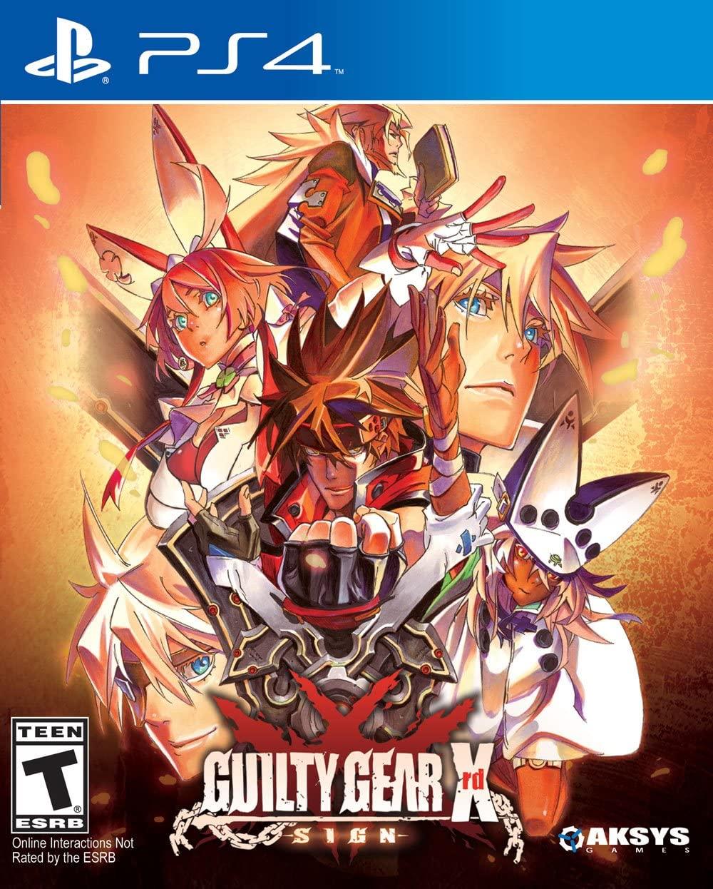 GUILTY GEAR XRD SIGN - PS4