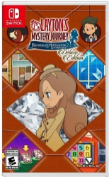 LAYTON'S MYSTERY JOURNEY KATRIELLE AND THE MILLIONAIRES' CONSPIRACY - DELUXE EDITION