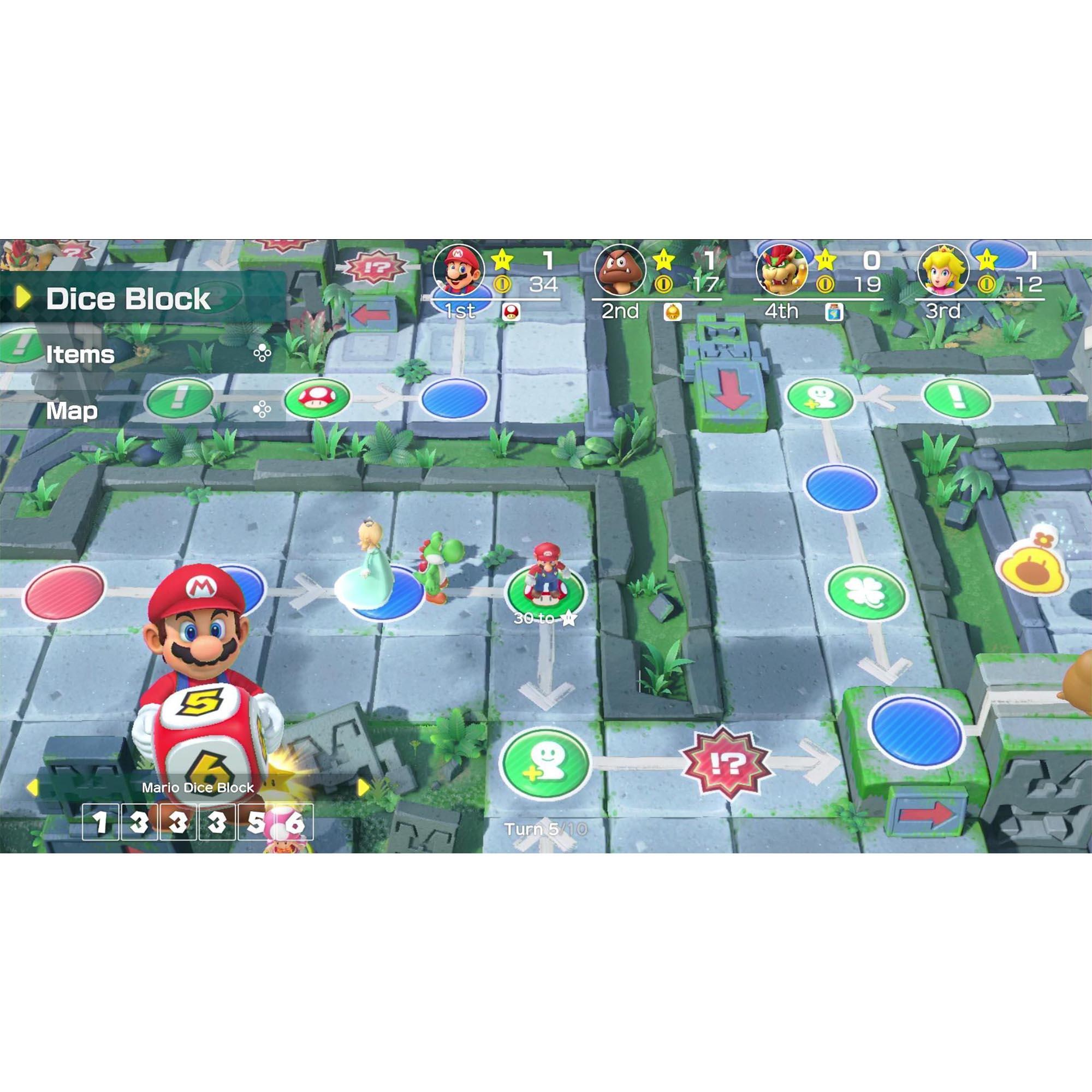 Mario Party: Superstars - Nintendo Switch - Pré Venda - Mídia Física