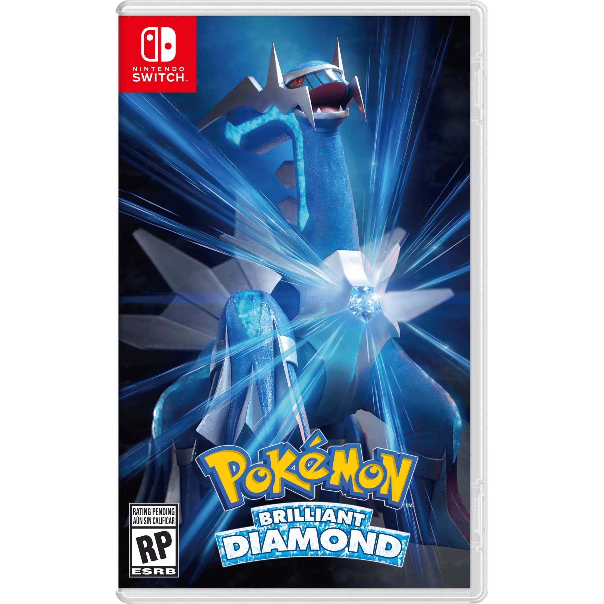 Pokémon: Brilliant Diamond - Nintendo Switch - Pré Venda - Mídia Fisica