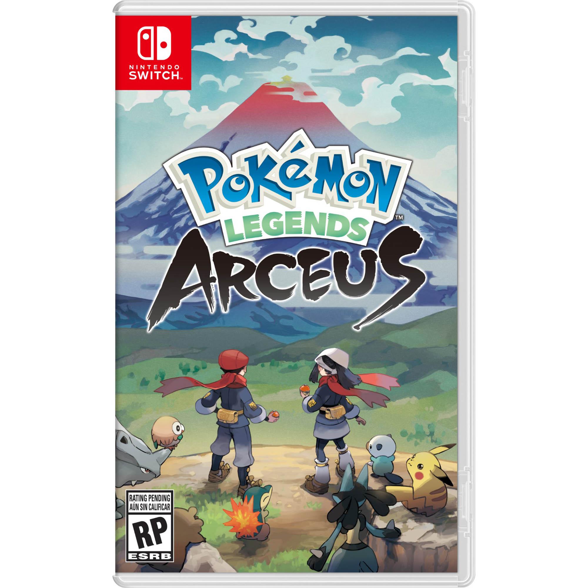 Pokémon: Legends Arceus - Nintendo Switch - Pré Venda - Mídia Física