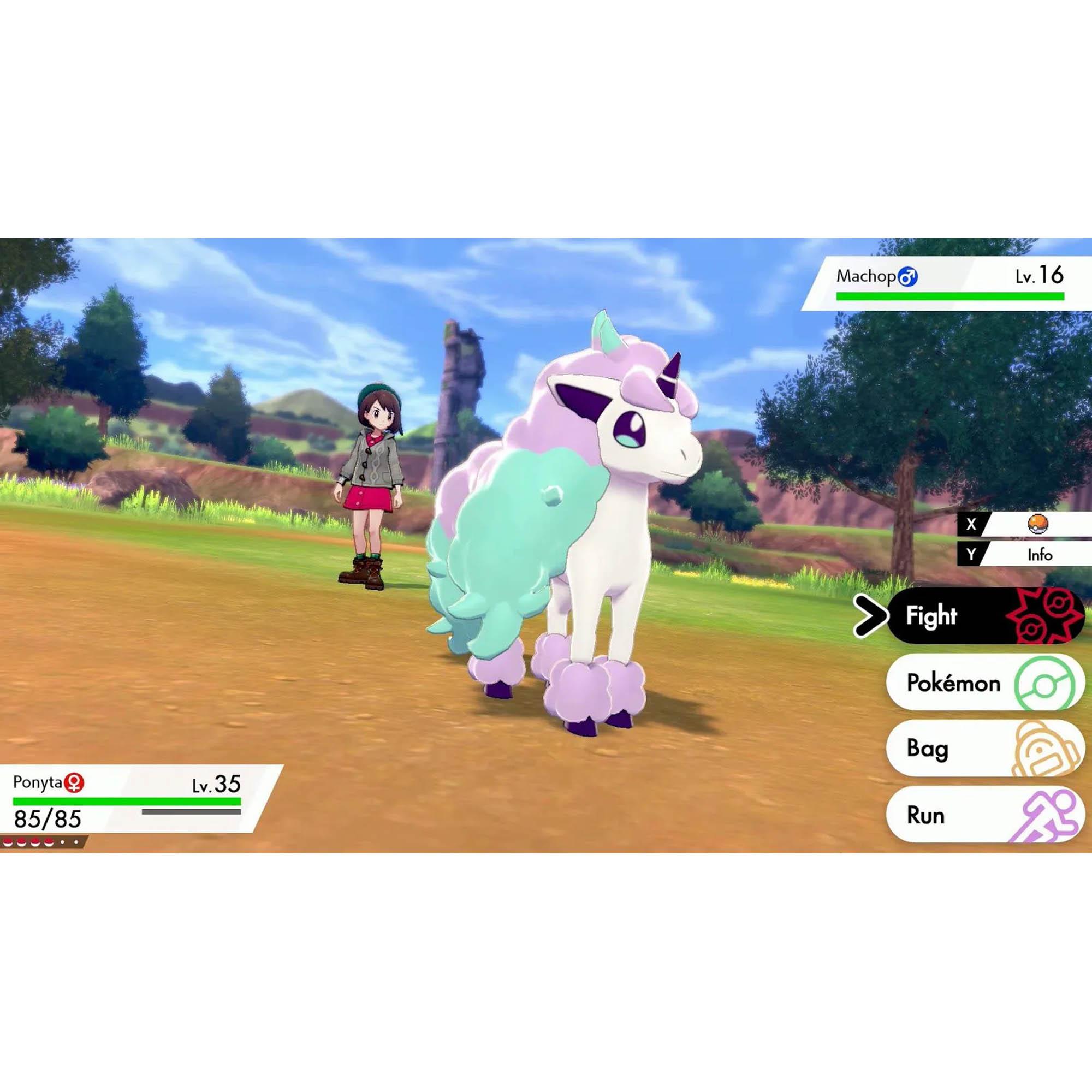 Pokémon Shield - Nintendo Switch - Mídia Física