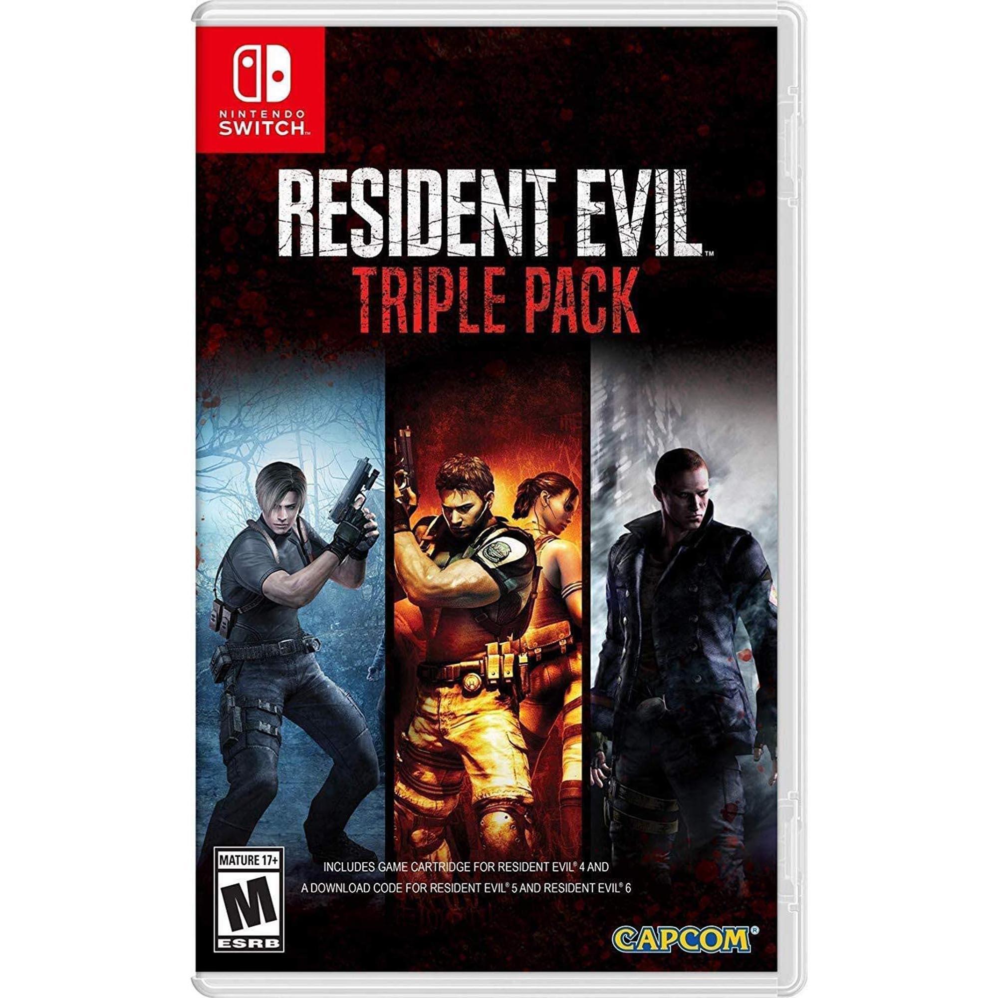 Resident Evil Triple Pack (4/5/6) - Nintendo Switch
