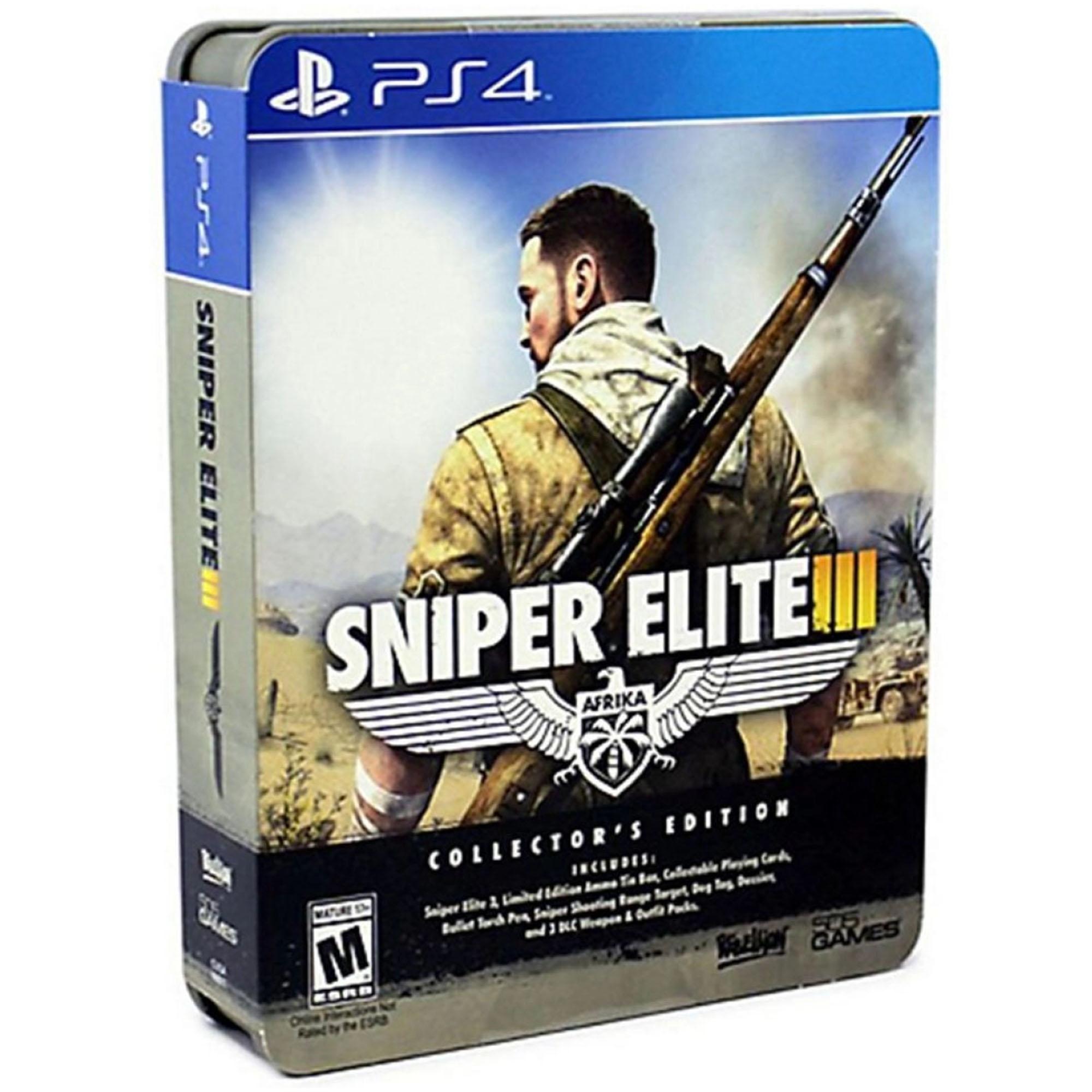 SNIPER ELITE 3 EDITION COLLECTOR - PS4