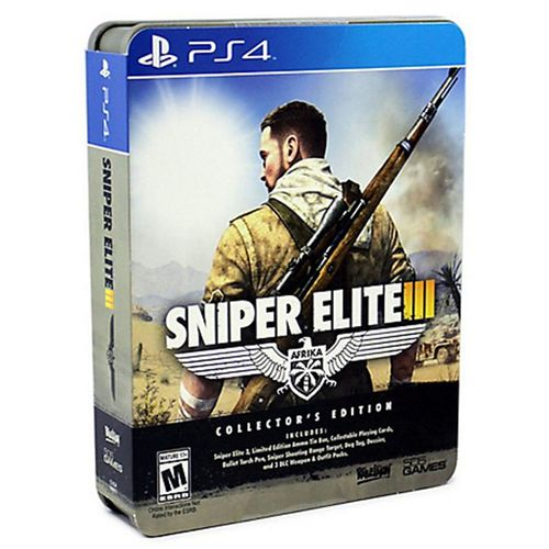 SNIPER ELITE 3 EDITION COLLECTOR - PS4