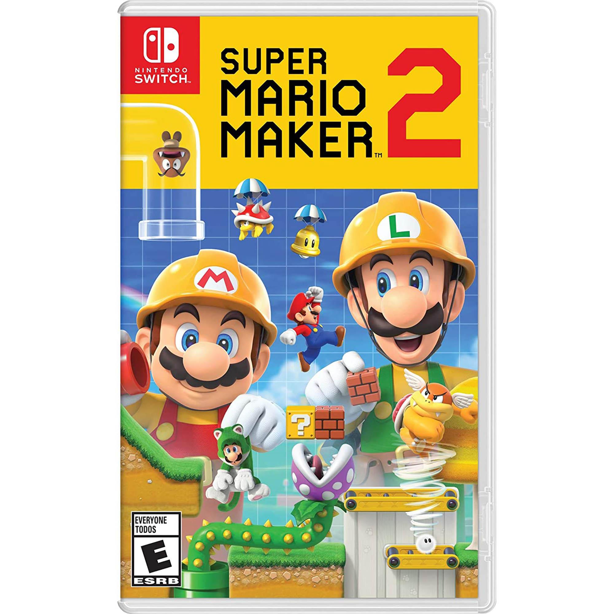 Super Mario Maker 2 - Nintendo Switch - Mídia Física