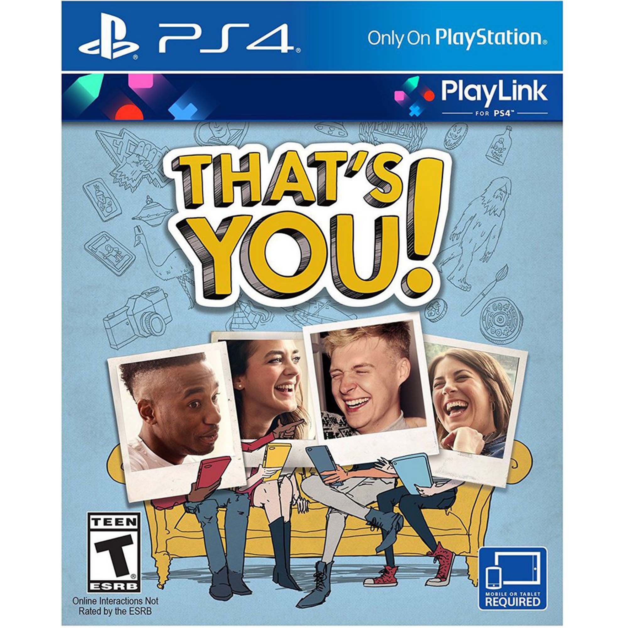 That's You! - PS4 - Mídia Física