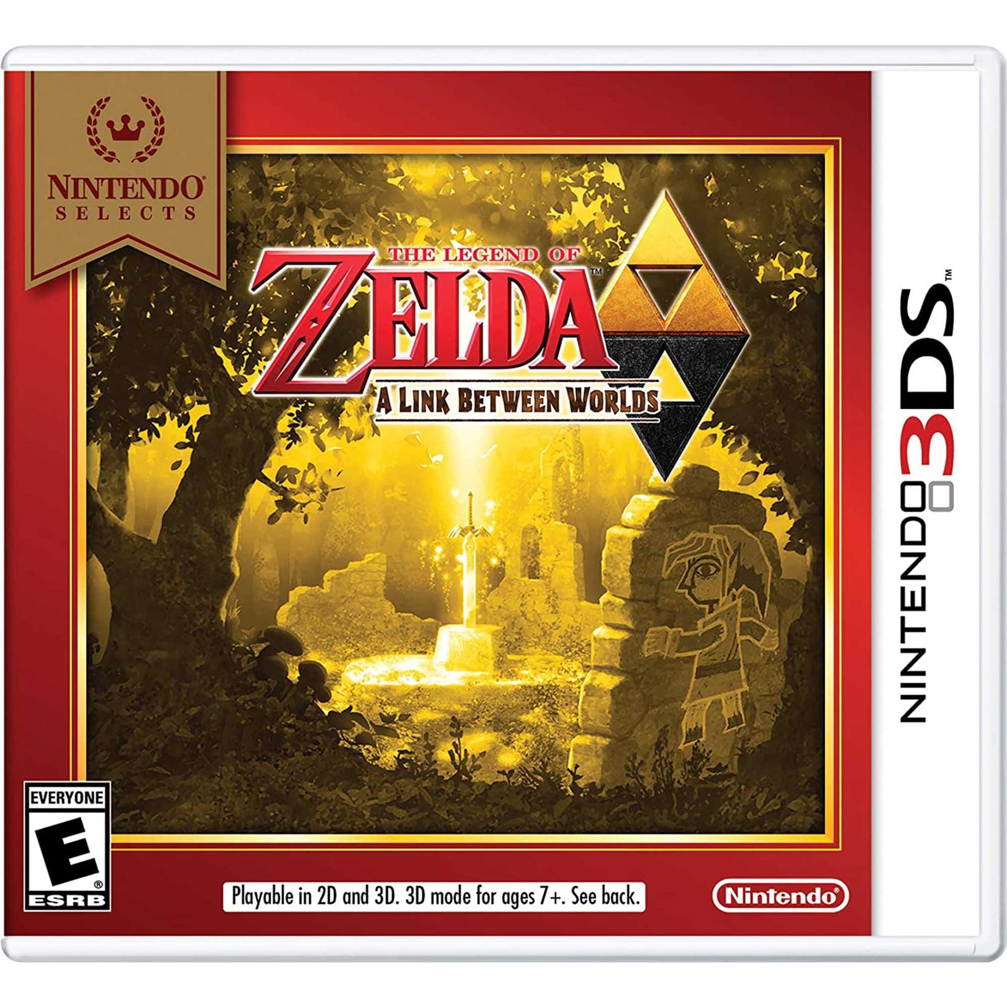 THE LEGEND OF ZELDA A LINK BETWEEN WORLDS - 3DS