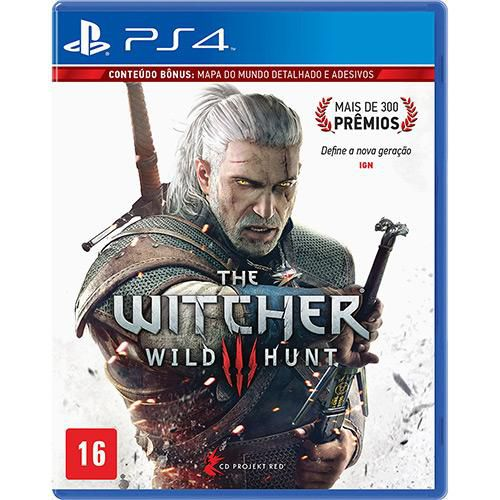 THE WITCHER WILD HUNT - PS4