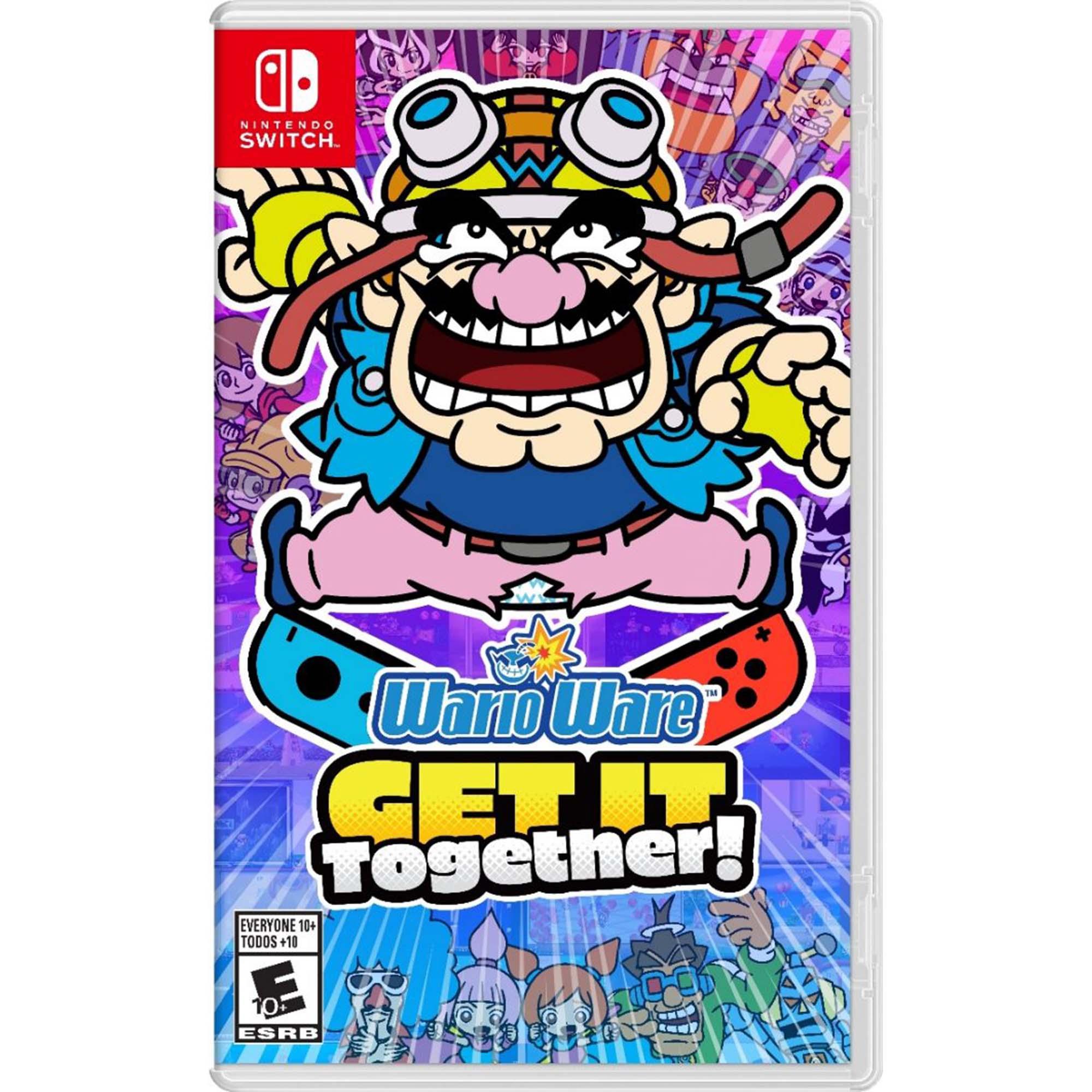 WarioWare: Get It Together! - Nintendo Switch - Pré Venda - Midia Fisica