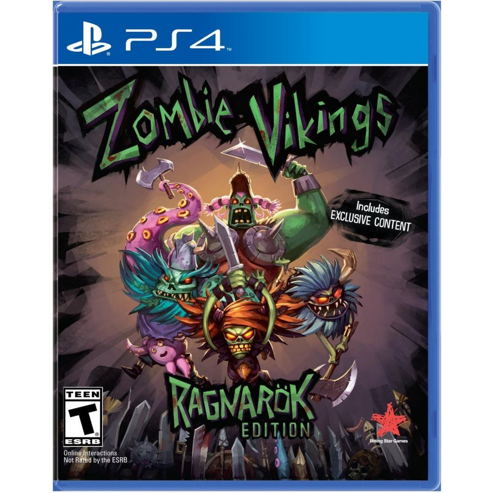 ZOMBIE VIKINGS RAGNAROK EDITION - PS4