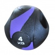MEDICINE BALL C/ PEGADA - 4KG/230MM - LIVEUP SPORTS