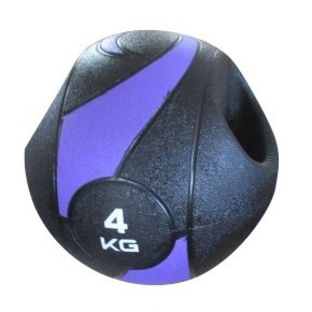 MEDICINE BALL C/ PEGADA - 4KG/230MM - LIVEUP SPORTS