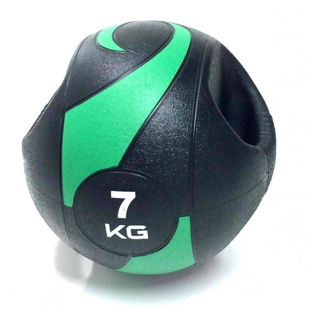 MEDICINE BALL C/ PEGADA - 7KG//275MM - LIVEUP SPORTS