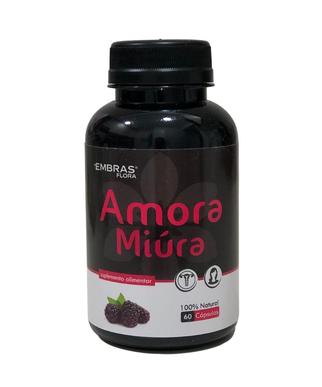 AMORA MIÚRA 60 CÁPSULAS - EMBRASFLORA