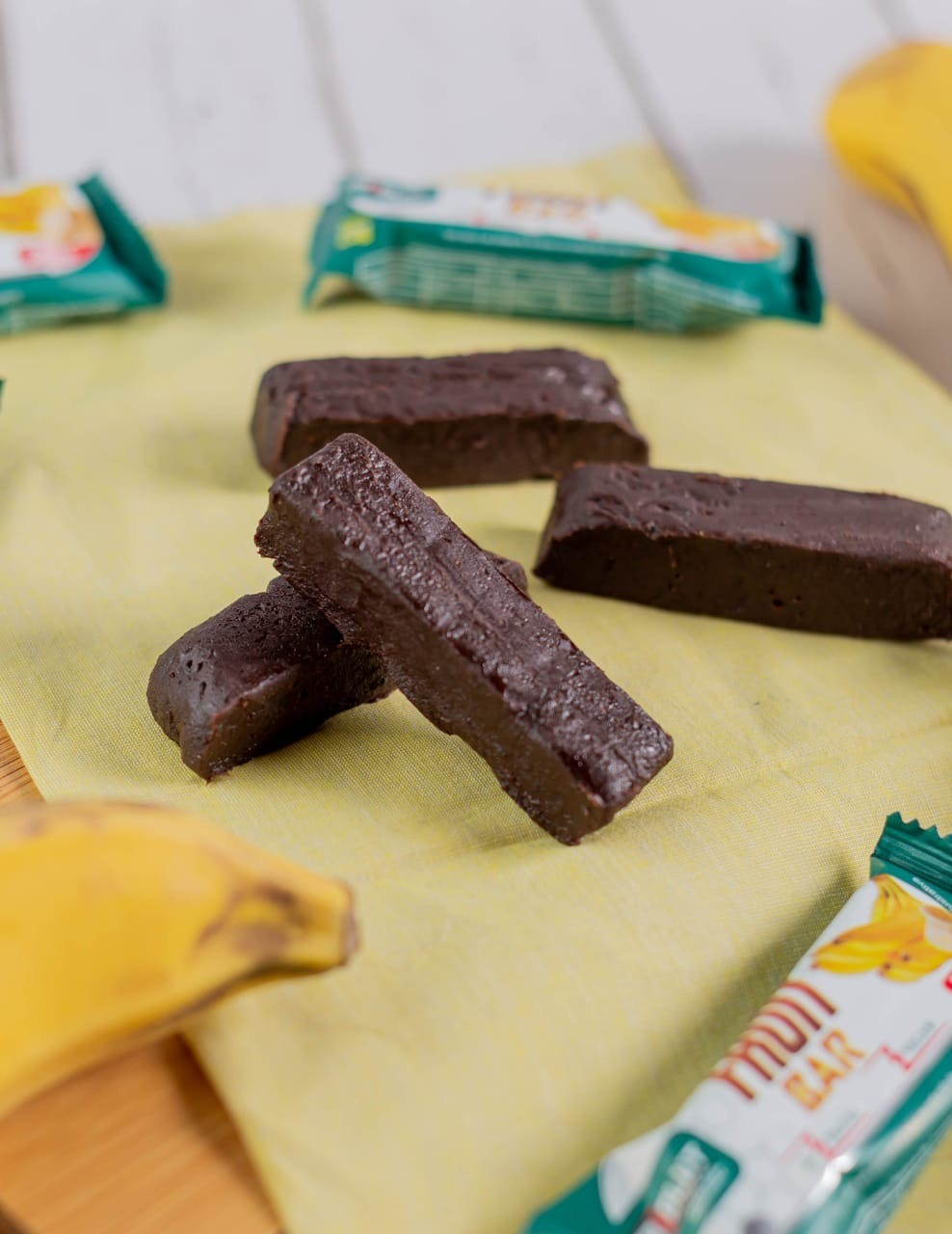 BARRA DE FRUTA FRUIT BAR BANANA + CHIA E LINHAÇA - ABS NUTRITION