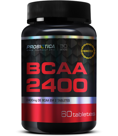 BCAA 2400 POTE 60 TABLETES - PROBIÓTICA