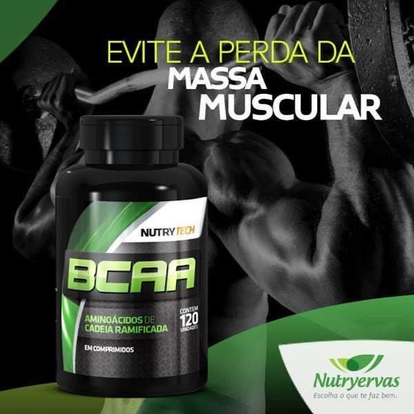 BCAA NUTRY TECH 120 CÁPSULAS