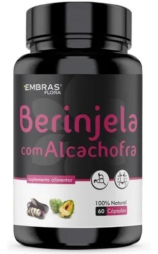 BERINJELA COM ALCACHOFRA 60 CÁPSULAS - EMBRASFLORA