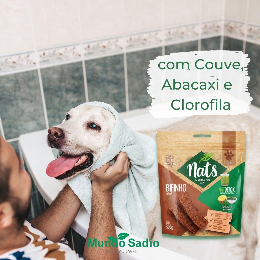 BIFINHO NATURAL PARA CÃES NATDETOX 300G - NATS