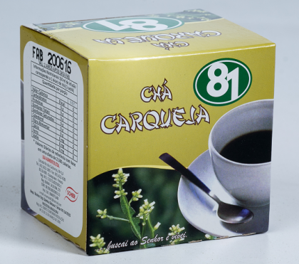 CHÁ NATURAL DE CARQUEJA 10 SACHÊS - MATE 81