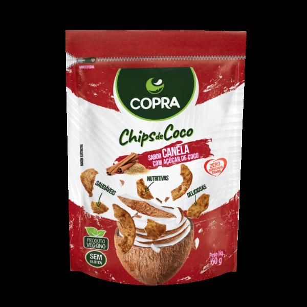 CHIPS DE COCO COPRA - CANELA