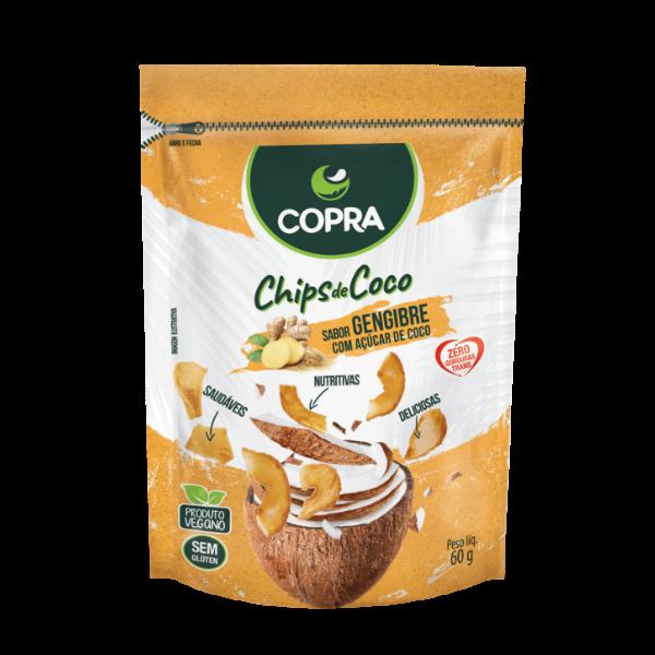 CHIPS DE COCO COPRA - GENGIBRE