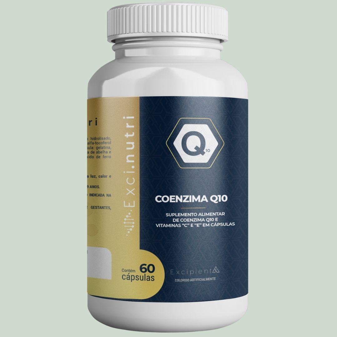 COENZIMA Q10 750MG 60 CÁPSULAS - EXCI NUTRI