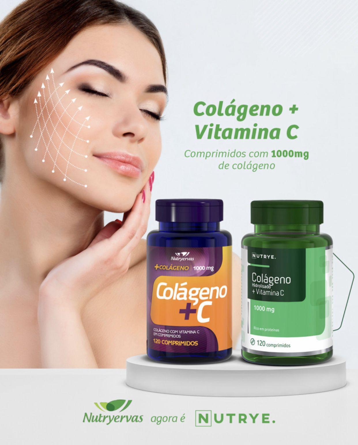 COLÁGENO + C NUTRYERVAS - 120 COMPRIMIDOS