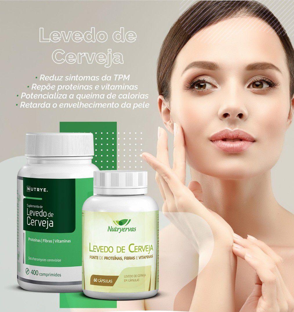 COMPLEMENTO LEVEDO DE CERVEJA 250 COMPRIMIDOS - NUTRYE