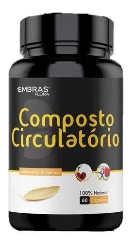 COMPOSTO CIRCULATÓRIO 60 CÁPSULAS - EMBRASFLORA