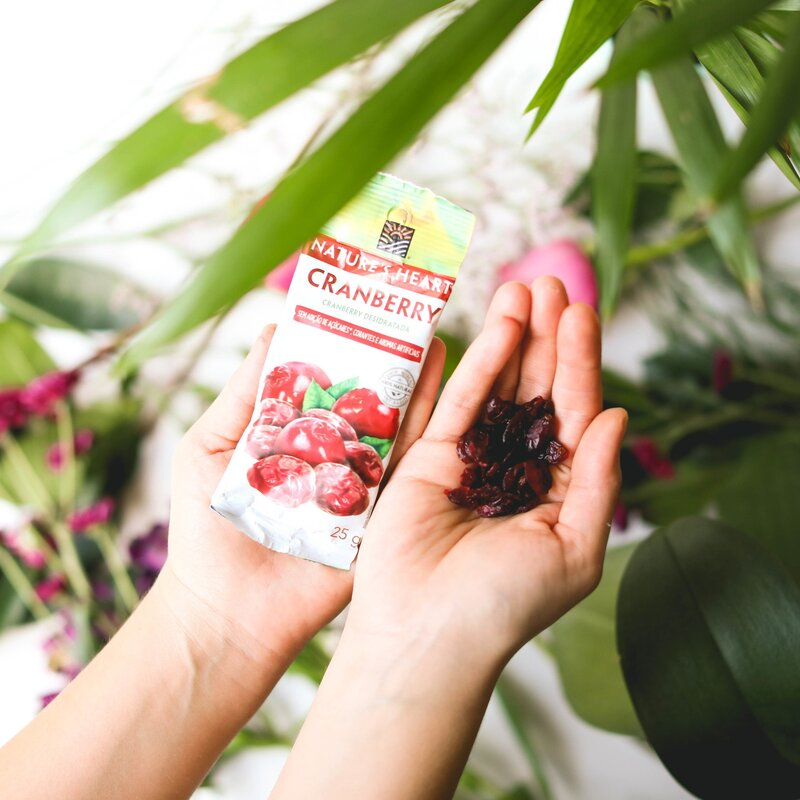 CRANBERRY 25G - NATURE'S HEART