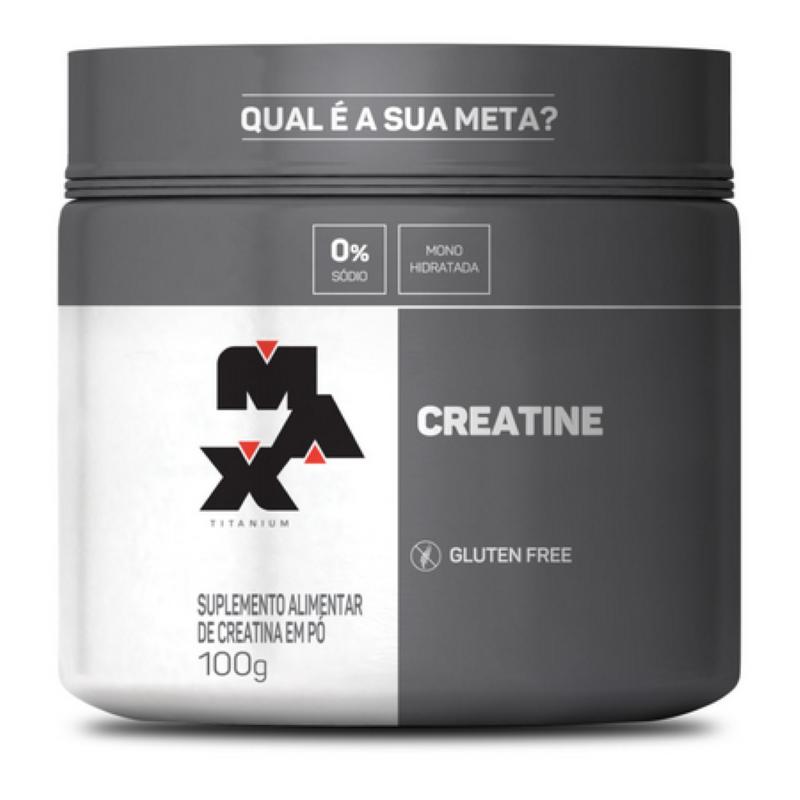 CREATINA (CREATINE) 100G - MAX TITANIUM