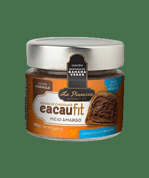 CREME DE CHOCOLATE CACAUFIT MEIO AMARGO 160G - LA PIANEZZA