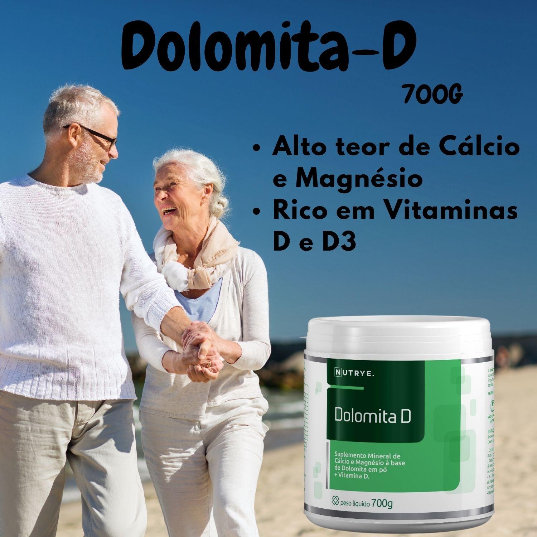 DOLOMITA - D MINERAL EM PÓ 700G - NUTRYE
