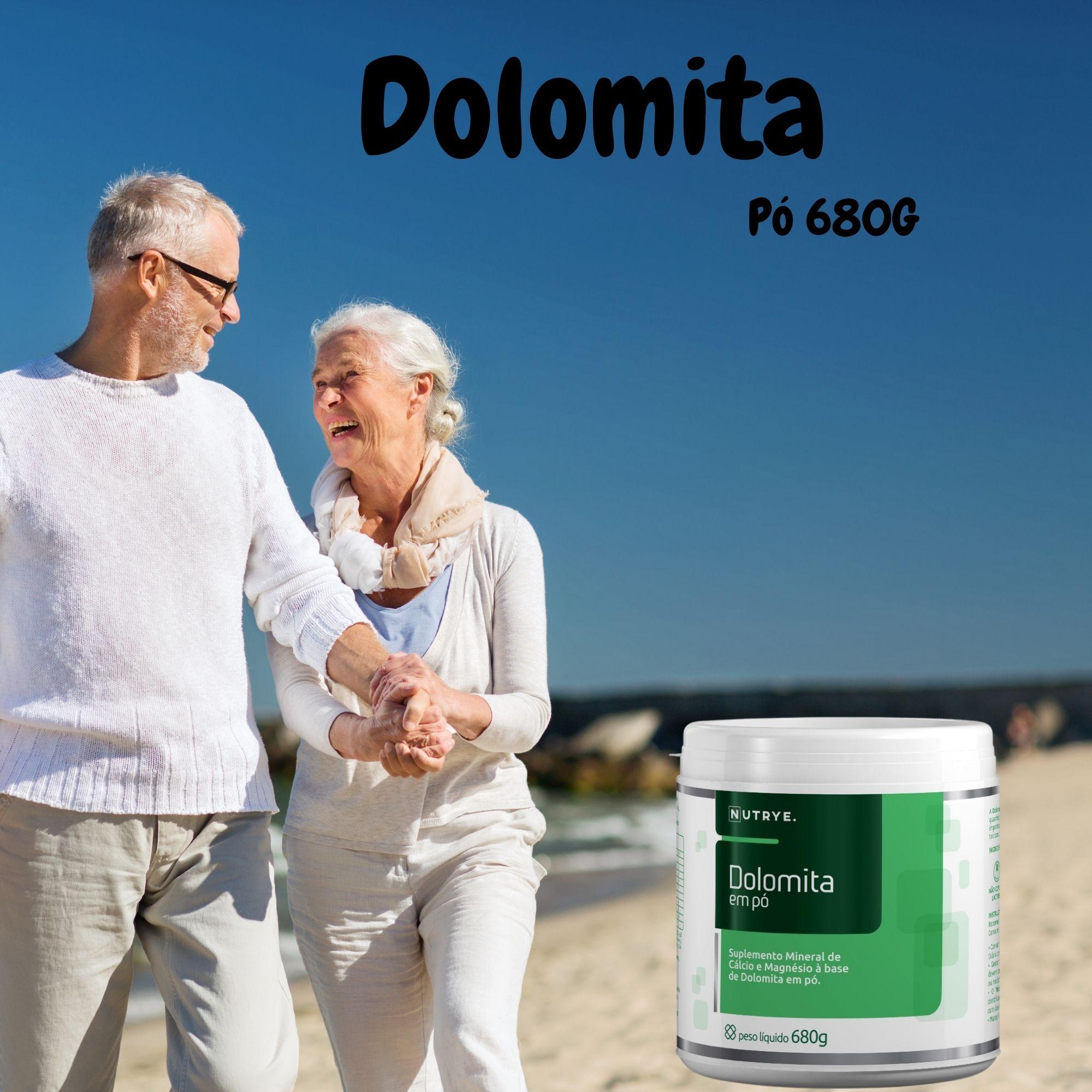 DOLOMITA MINERAL EM PÓ 680G - NUTRYE