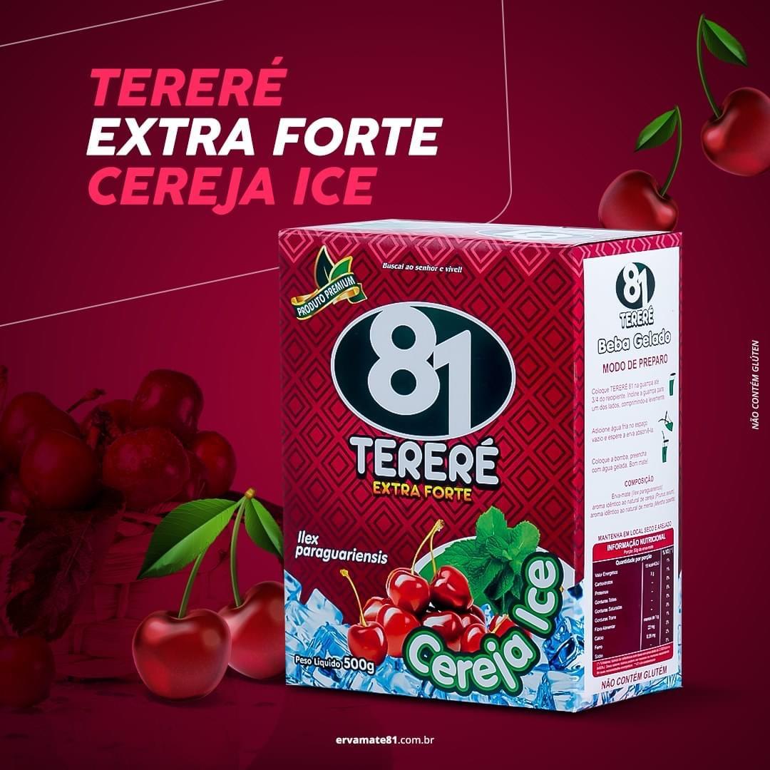 ERVA PARA TERERÉ CEREJA ICE (EXTRA FORTE) 500G - MATE 81