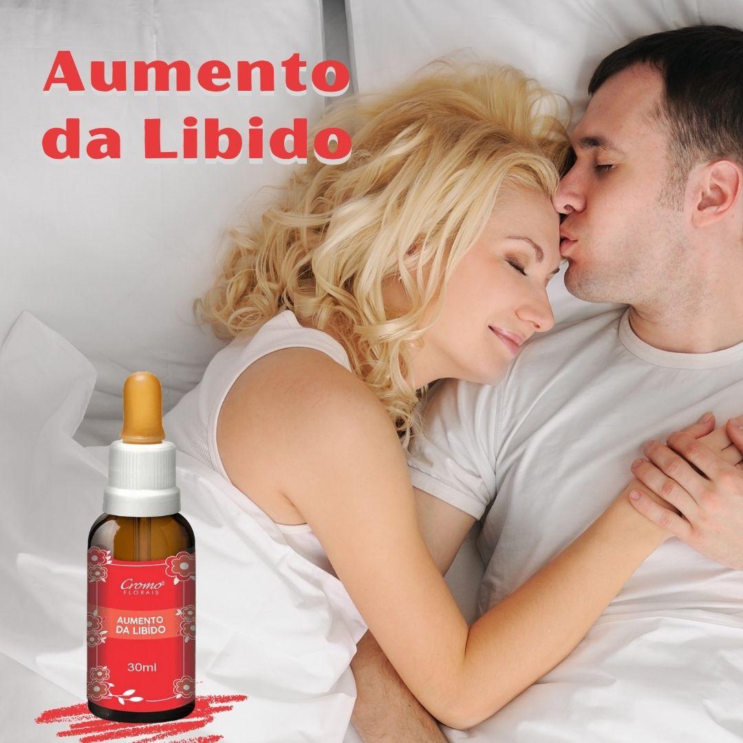 FLORAL AUMENTO DA LIBIDO 30ML - CROMO FLORAIS