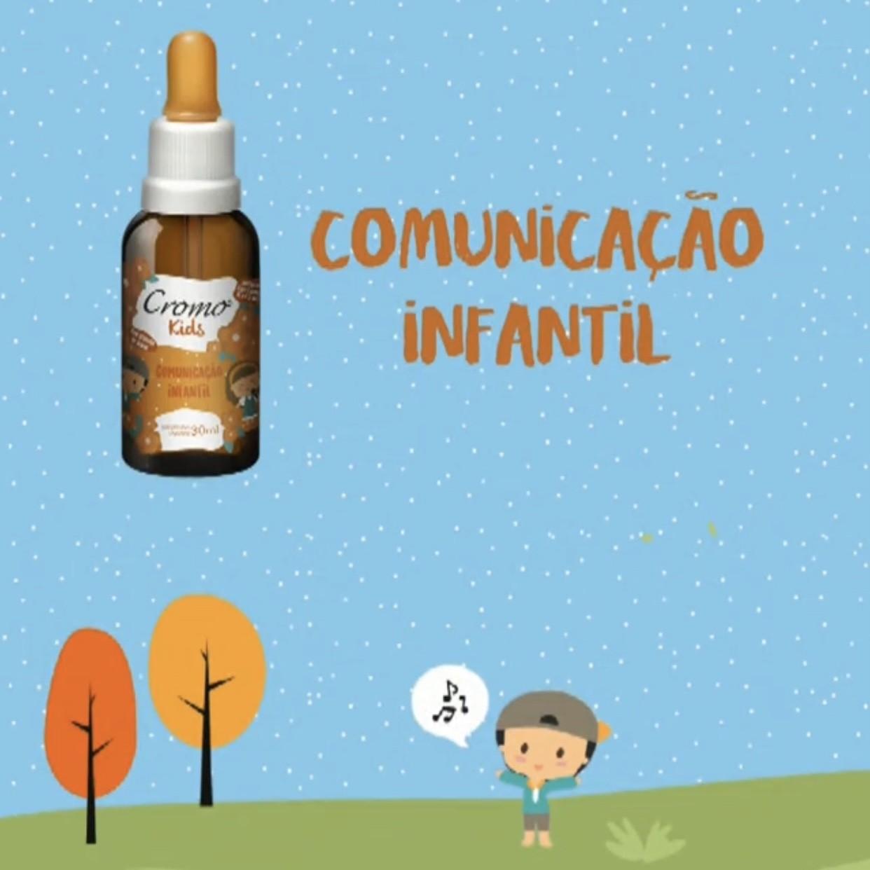 FLORAL KIDS COMUNICAÇÃO INFANTIL 30ML - CROMO FLORAIS