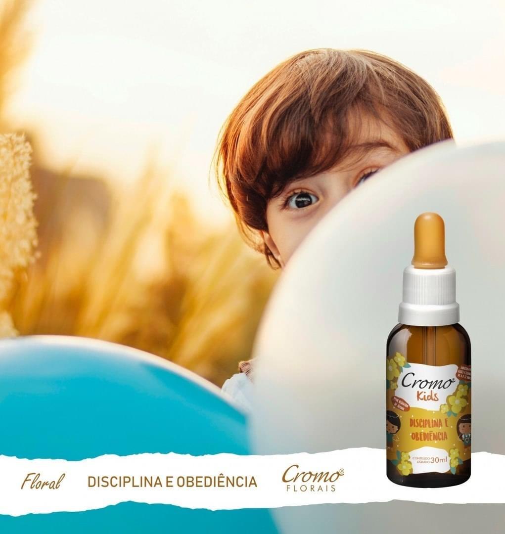 FLORAL KIDS DISCIPLINA E OBEDIÊNCIA 30ML - CROMO FLORAIS