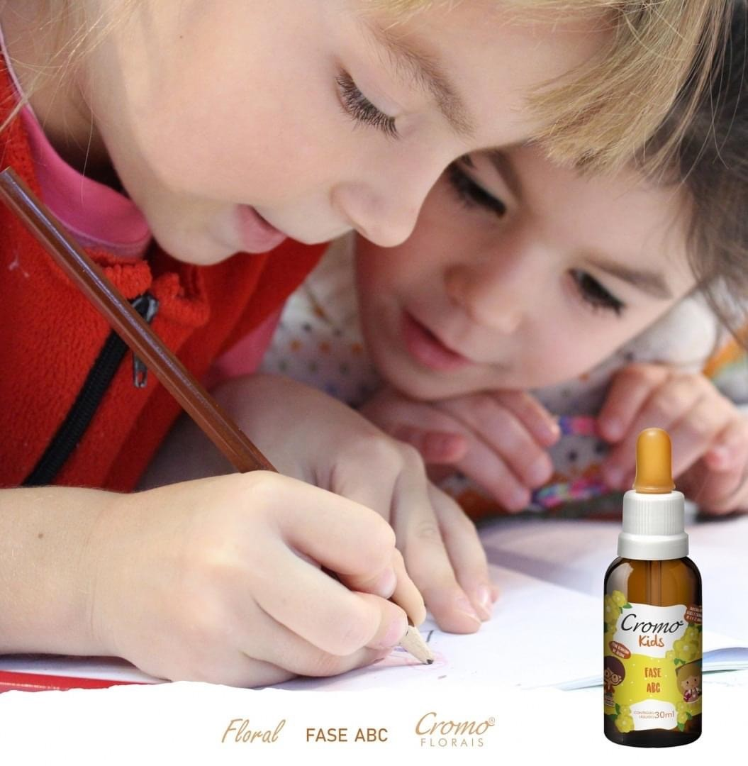 FLORAL KIDS FASE ABC 30ML - CROMO FLORAIS